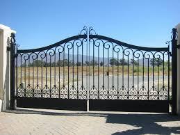 METAL GATES.
